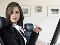 Успешная женщина в бизнесе