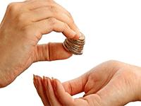 Получение пожертвований