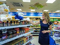 Небольшой супермаркет