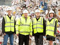 Персонал на производство по переработке вторсырья