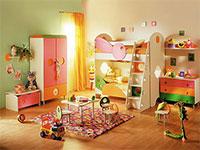 Оборудование в детской развлекательной комнате