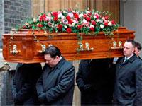 Предоставление похоронных услуг
