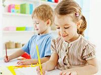 Дети в развивающем центре