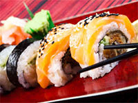 Открываем доставку суши