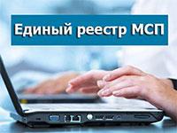 Единый государственный реестр МСП пересмотрят в августе 2019 года